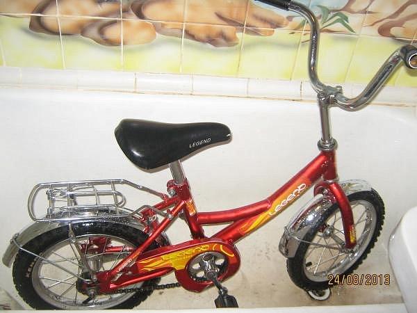 похудел как велосипед