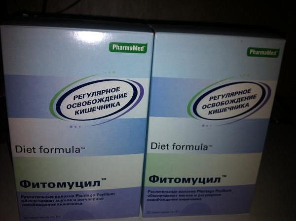 фитомуцил диет формула аптека москва