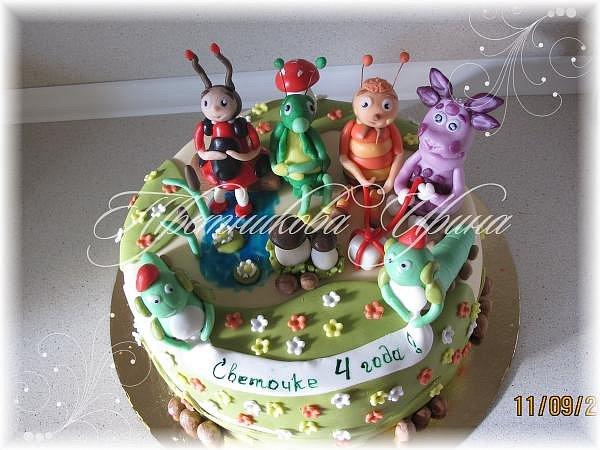 Фото детских тортов в екатеринбурге