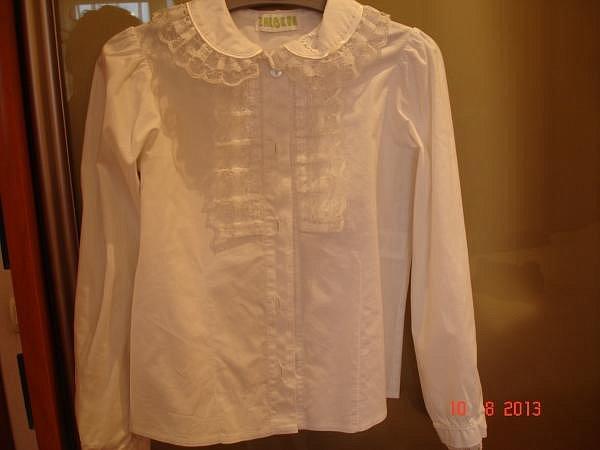 Белая Блузка На 1 Сентября