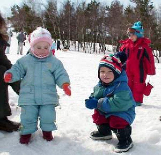 В чем ваши дети ходят зимой