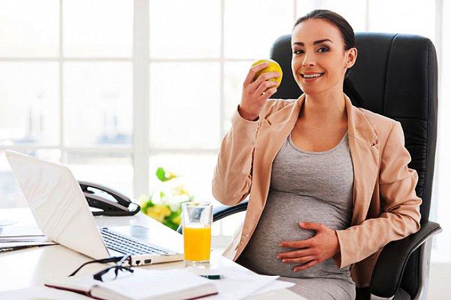 Если женщина не работает беременна