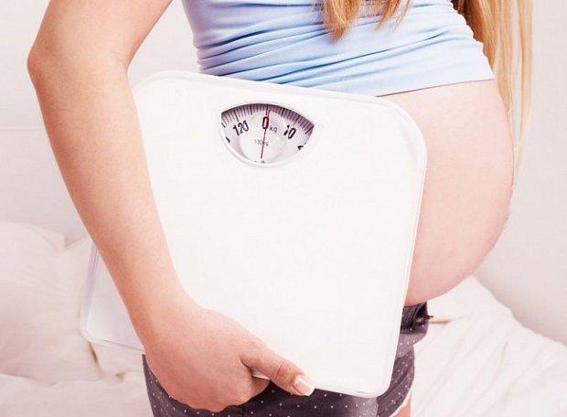 Похудела во время беременности на 20 кг