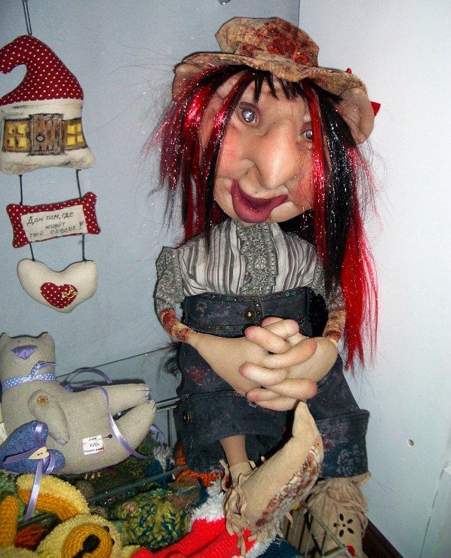 Мастер класс по чулочным куклам